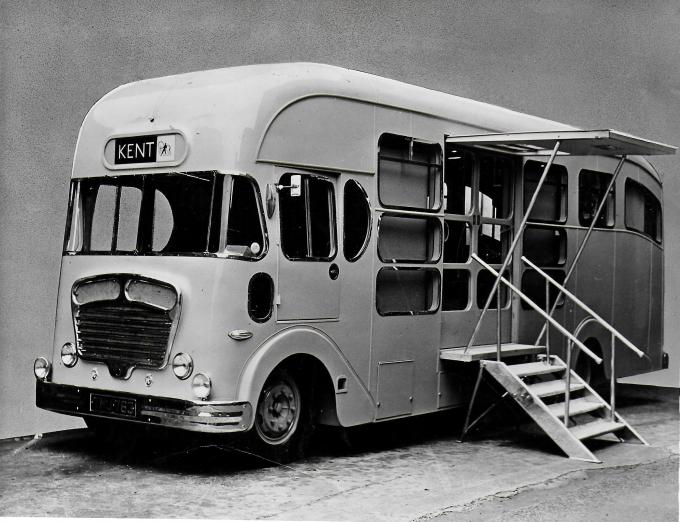 Specialist Laboratory vehicle for George Kent Luton