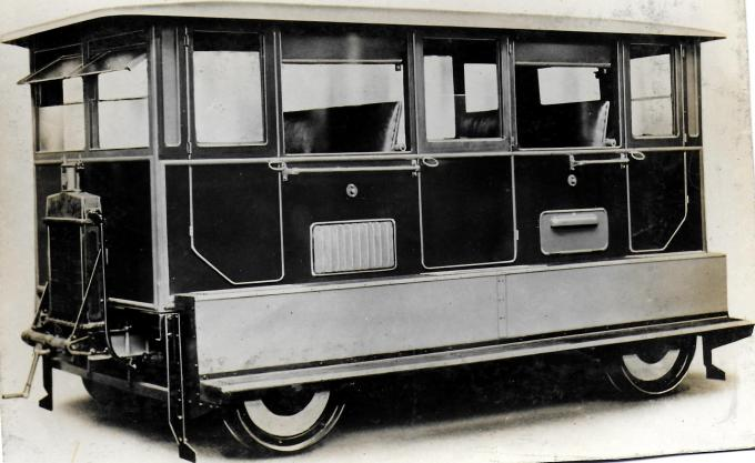 Wickham Type 11 Saloon Inspection Car